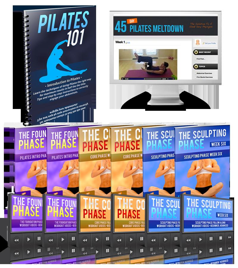 Pilates Mat Class Youtube: Pilates Lower Body Workout