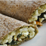 Spinach & Egg White Wrap
