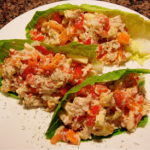 Yummy Tuna Lettuce Wraps