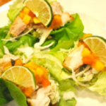 Lettuce Wrapped Fish Tacos